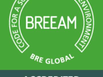 Amandine Lipari a été reconnue BREEAM ASSESSOR